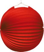 Lampión jednofarebný červený