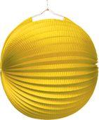 Lampión jednofarebný žltý