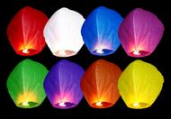 Lampión šťastia multicolor 1ks
