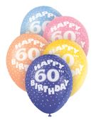 """Latexové balóny """"60"""