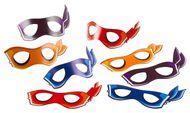 Masky Ninja korytnačky