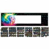 Mega banner s vlastným nápisom Disco Fever 70´s