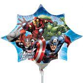Mini fóliový balón Avengers star
