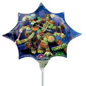 Mini fóliový balón Ninja Star