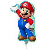 Mini fóliový balón Super Mario