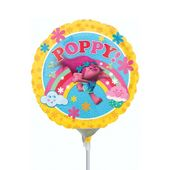 Mini fóliový balón Trollovia