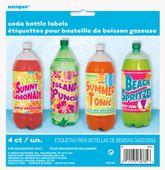 Nálepky na plastové fľaše