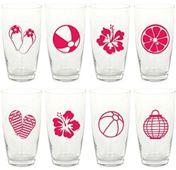 Nálepky na poháre