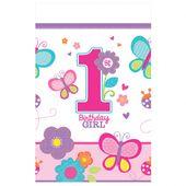 Obrus 1.narodeniny B-day Girl