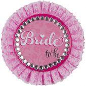 Odznak Deluxe Bride to be