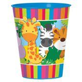 Pohárik plastový Jungle Animals