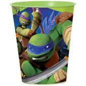 Pohárik plastový Ninja korytnačky