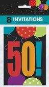 Pozvánky happy 50