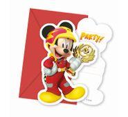 Pozvánky Mickey a pretekári