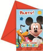 Pozvánky Mickey Clubhouse