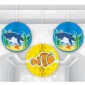 Rozetková dekorácia Priatelia oceánu