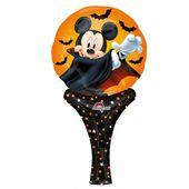 Ručný fóliový balónik Mickey Dracula Halloween