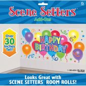 Scénická tapeta happy birthday