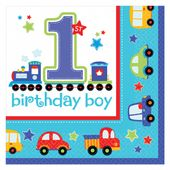 Servítky 1.narodeniny B-Day Boy
