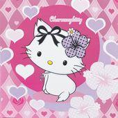 Servítky Charmmy Kitty hearts
