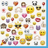 Servítky Cool Emoji