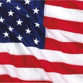 Servítky Happy 4th July