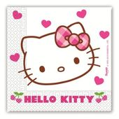 Servítky Hello Kitty