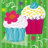 Servítky Muffin party