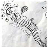 Servítky Music