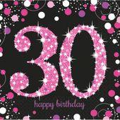 Servítky Pink Diamonds 30