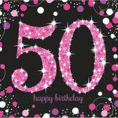 Servítky Pink Diamonds 50