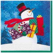 Servítky Snowman gifts