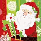 Servítky Veselý Santa