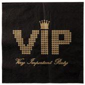 Servítky VIP