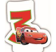 Sviečka 3 Cars