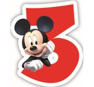 Sviečka 3 Mickey