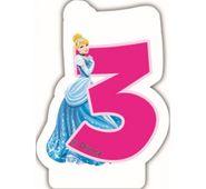 Sviečka 3 Disney Princezné