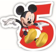 Sviečka 5 Mickey