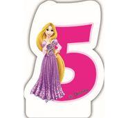 Sviečka 5 Disney Princezné