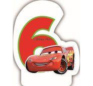 Sviečka 6 Cars