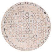 Tanierik Cement Tile ružovo-zlatý