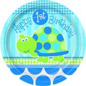 Tanierik malý 1.narodeniny korytnačka