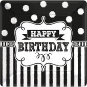 Tanierik malý Chalkboard Birthday
