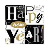 Tanierik malý Happy new year
