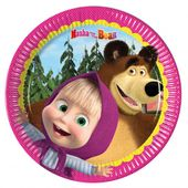 Tanierik malý Máša a medveď