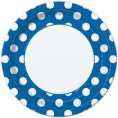 Tanierik modré bodky