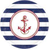 Tanierik námornícka party 27cm