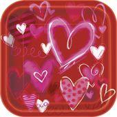 Tanierik Painted Hearts