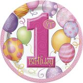 Tanierik veľký 1.narodeniny dievčatko