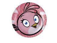 Tanierik veľký Angry Birds Pink